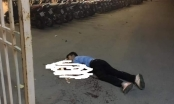 Tài xế taxi nghi bị cứa cổ tử vong trước cổng sân vận động Mỹ Đình