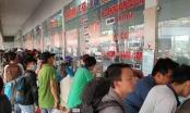TP HCM: Hàng nghìn xe chở hành khách về quê đón Tết