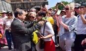 Những vị khách quốc tế 'xông đất' Hoàng Cung Huế