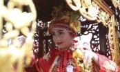 Clip 'Tướng bà' 11 tuổi được bảo vệ nghiêm ngặt tại hội đền Gióng