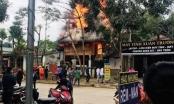 Hà Giang: 4 nhà dân bất ngờ bốc cháy, thiệt hại gần tỷ đồng