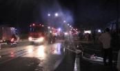 Bình Dương: Bà hỏa thiêu rụi xưởng pallet