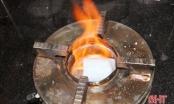Cồn khô nấu lẩu có thể gây ngộ độc