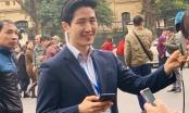 Phóng viên Hàn Quốc đẹp trai gây bão cộng đồng mạng