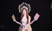 """Đưa cả """"gánh Lô tô"""" lên sân khấu, Đỗ Nhật Hà gây bất ngờ tại Miss International Queen 2019"""
