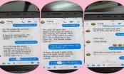 """Lộ tin nhắn nghi của thầy giáo 40 tuổi ở Thái Bình """"gạ tình"""" nữ sinh lớp 10"""