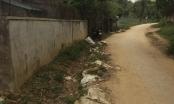 Chuyện lạ ở Nghệ An: Xây đường giao thông nhưng không có mương thoát nước!