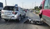 TP HCM: Tai nạn liên hoàn, 2 người thương vong