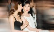 """Á hậu Hà Thu bất ngờ """"thăng hạng nhan sắc"""", khoe vẻ đẹp mong manh sương khói tại show diễn thời trang"""