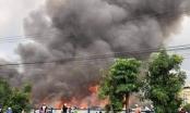 Cháy lớn tại Công ty Cổ phần logistics Pan Pacific Bình Dương