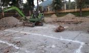 Phát hiện vật liệu nổ trong lúc thi công công trình trường học