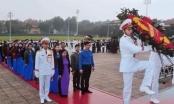 Nghệ An (Nam Đàn): Học sinh Trường THCS Kim Liên tham quan học tập trải nghiệm tại Lăng Bác và Bảo tàng Hồ Chí Minh