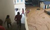 Xót thương clip thầy trò hoảng loạn chạy lũ ở Sơn La