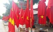 Sắc đỏ tràn ngập phố phường Thủ đô trước giờ G, Olympic Việt Nam gặp UAE