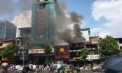 Hà Nội: Cháy lớn tại nhà hàng Món ăn ngon đường phố