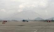 Cận cảnh máy bay thế hệ mới Airbus A321neo tại sân bay quốc tế Nội Bài
