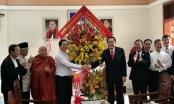 Chủ tịch UBTW MTTQ Việt Nam chúc mừng Lễ Giáng sinh năm 2018