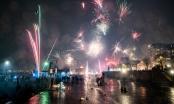 Hình ảnh các thành phố châu Âu tưng bừng đón năm mới