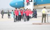 Đội tuyển Việt Nam được vinh danh ngay tại sân bay Nội Bài