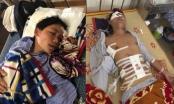 Xót xa cảnh hai vợ chồng gặp nạn trên đường đưa bố bị bệnh viện trả về
