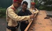Hà Nội: Đội CSGT số 10 phát hiện tài xế xe 'hổ vồ' dương tính với ma túy