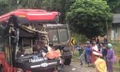 Tuyên Quang: Xe khách đối đầu xe ben, nhiều người nhập viện