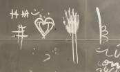 Những hình vẽ ám ảnh trên tường nhà vụ người mẹ tự thiêu cùng 3 con nhỏ