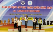 Giải cờ vua vô địch quốc gia Cúp LienvietPostbank 2020: Xứng tên hai nhà vô địch
