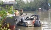 Vĩnh Long: Lật ca nô một Cảnh sát giao thông đường thủy mất tích