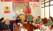 An Giang: Đại diện các tôn giáo đến thăm và chúc Tết Công an tỉnh