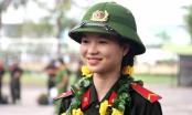 Những thiếu nữ tham gia nghĩa vụ Công an nhân dân
