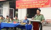 An Giang: Giải bóng đá kỷ niệm 75 năm Ngày truyền thống lực lượng Tham mưu CAND