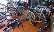 An Giang: Phát hiện nhiều xe đạp cũ không hóa đơn, chứng từ