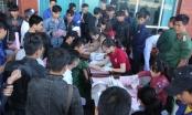 Các chiến sĩ Binh đoàn 15 nhiệt tình tham gia hiến máu tình nguyện