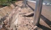 Đắk Lắk: Thi công điểm đen giao thông vừa xong đã hỏng