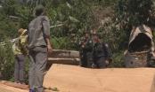 Công an tỉnh Đắk Lắk đột kích tóm gọn nhiều đối tượng lâm tặc đang tàn sát rừng