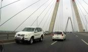 Hà Nội: CSGT khẳng định không cho phép ô tô đi ngược chiều trên cầu Nhật Tân