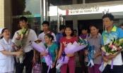 10 bệnh nhân Hòa Bình sống sót trong tai biến chạy thận được xuất viện