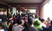 Biển người chen chân đi lễ hội Yên Tử