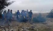 Thanh Hóa: Tập thể dục buổi sáng, người dân phát hiện thi thể mất đầu trôi dạt bờ biển