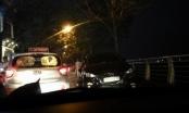 """Hà Nội: """"Xế hộp"""" gây tai nạn liên hoàn, một học sinh phải nhập viện"""