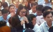 Diễn viên Quỳnh Tứ khóc nức nở khi trả lời Tòa trong phiên xử đại án OceanBank