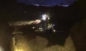 Hòa Bình: Nhà sụt lún, 19 người bị chôn vùi trong đêm