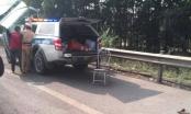 Chiến sỹ CSGT bị xe máy tông trên cao tốc Hà Nội - Thái Nguyên đã tử vong