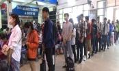Hà Nội: Các bến xe đông nghẹt người về quê dịp nghỉ lễ 30/4