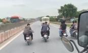 Thanh Hóa: Triệu tập nhóm thanh niên đánh võng dàn hàng ngang trên QL 1A