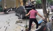 Hà Nội: Ô tô điên gây tai nạn liên hoàn khiến 2 mẹ con bị thương