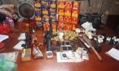 Bắt đôi vợ chồng biến nhà mình thành tụ điểm bán ma tuý có trang bị vũ khí nóng ở Nam Định