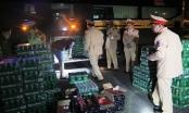 Bắt giữ 2 xe khách vận chuyển số lượng hàng lậu khủng ở Hà Tĩnh