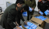 Hà Nội: Công an thu giữ lô khẩu trang y tế có nghi vấn tích trữ để bán ra nước ngoài